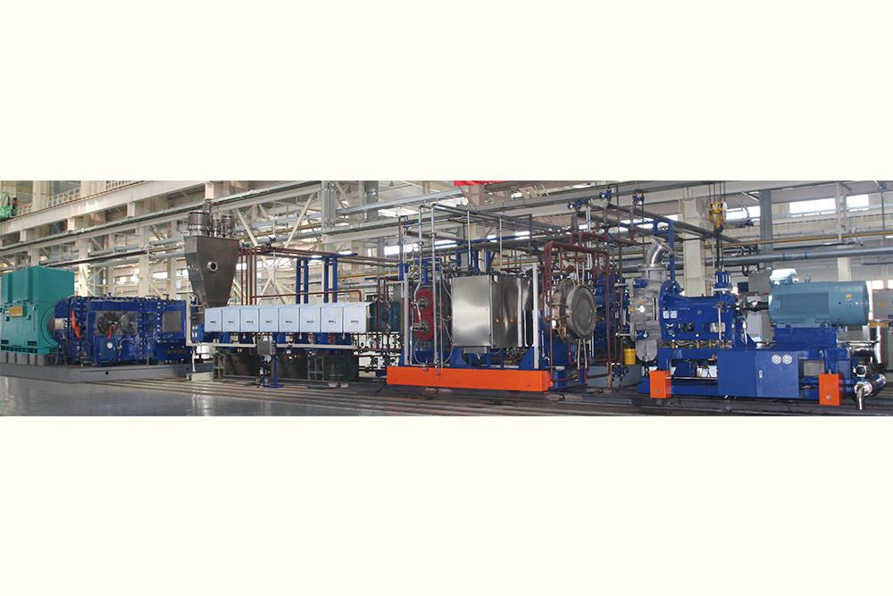 大型混煉擠壓造粒機組