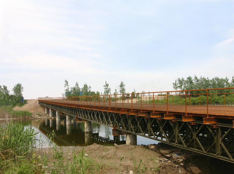 紹嘉跨江通道前期棧橋