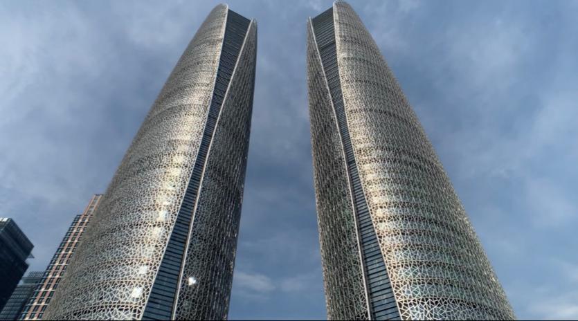 天府國際金融中心雙塔