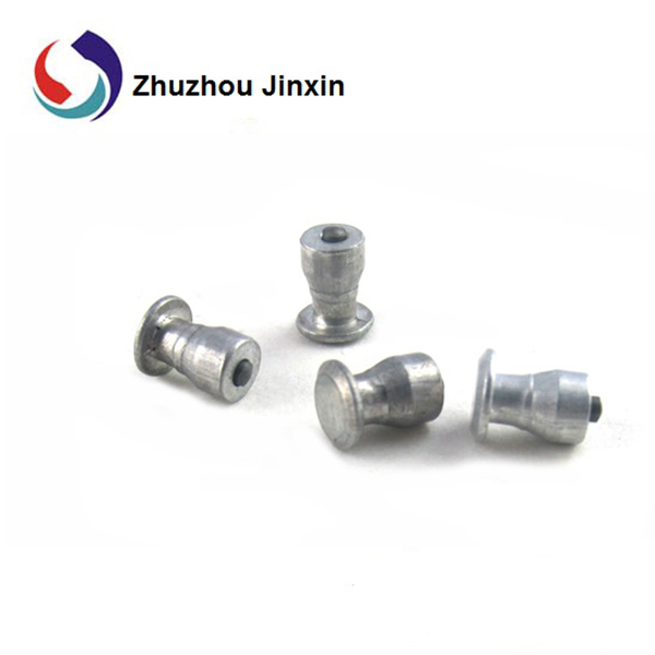 JX9-11-2 Winter Antiskid Alumminum Studs With Carbide Pin For Car Tire