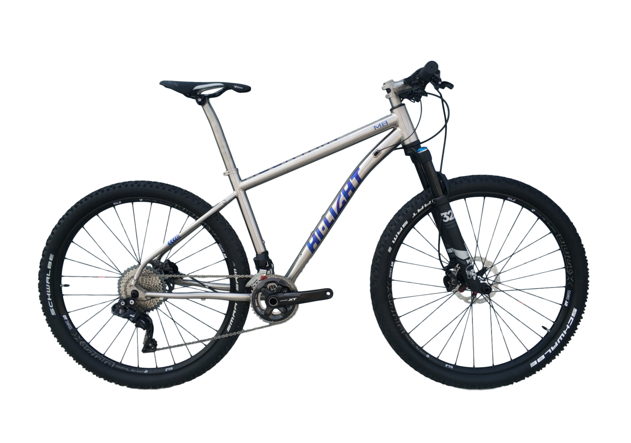 M8 DI2 TITANIUM MOUNTAIN BIKE