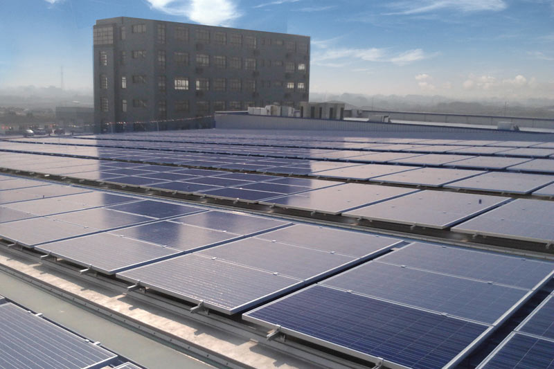 20 MW photovoltaic rooftop project, Shanghai