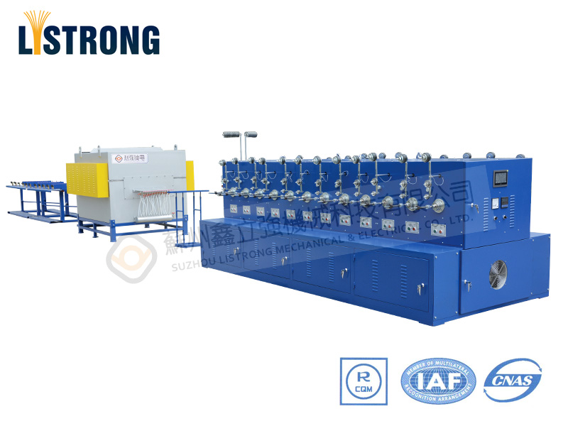 24TB Stainless Steel Wire Tubular Annealing Machine