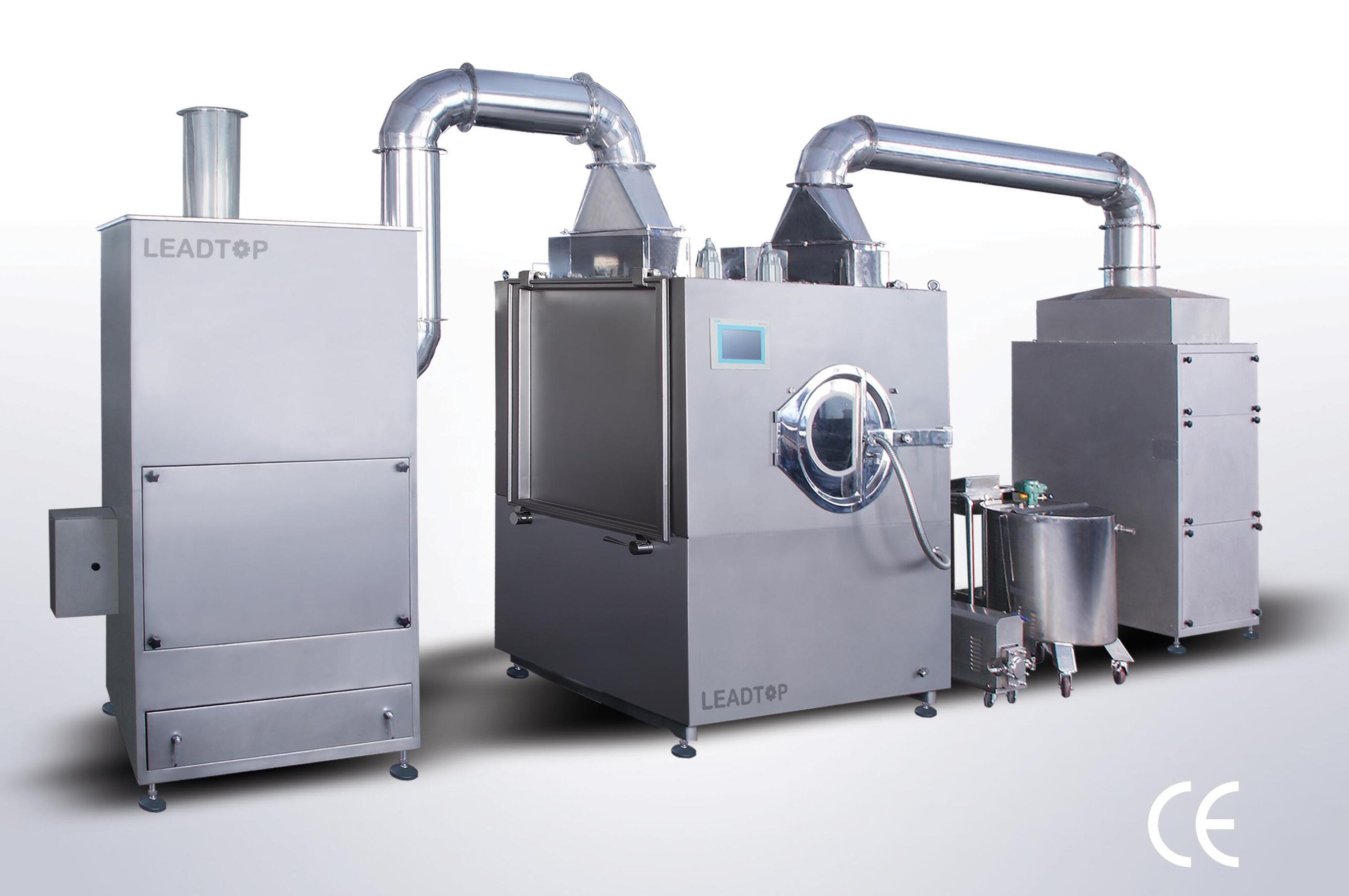 High Efficiency Intelligent Film Coating Machine