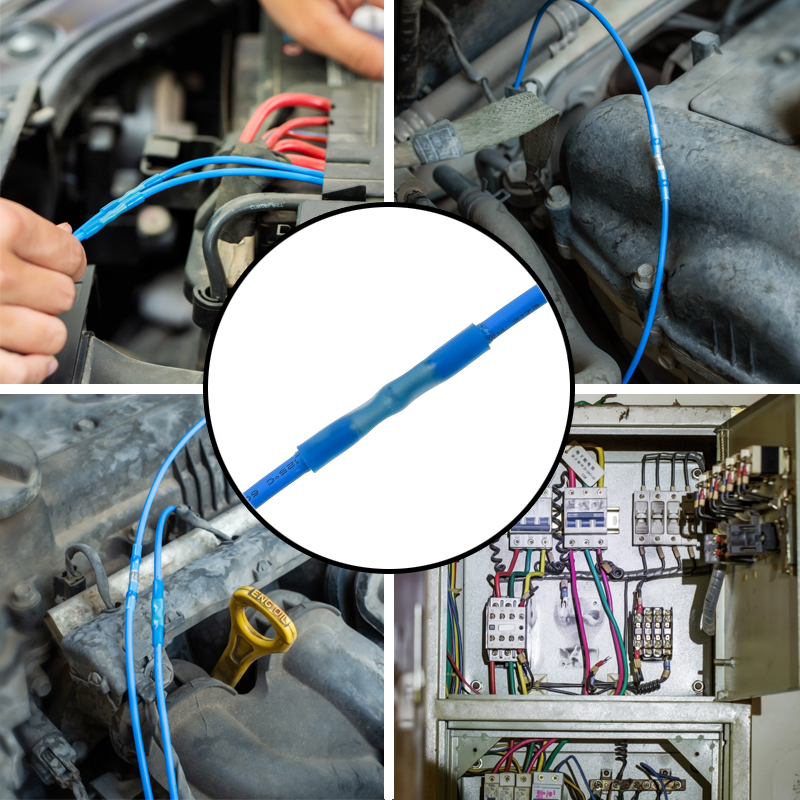 Auto listing requires the use of double-walled heat shrink tubing to seal and protect the automotive wiring harness