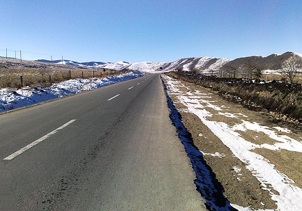 四川阿坝州公路项目