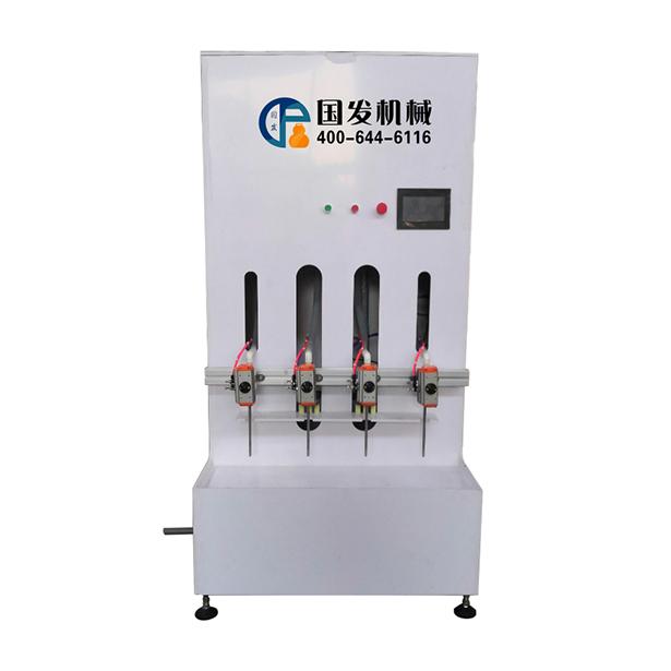 半自动消毒液灌装机、洁厕灵灌装机