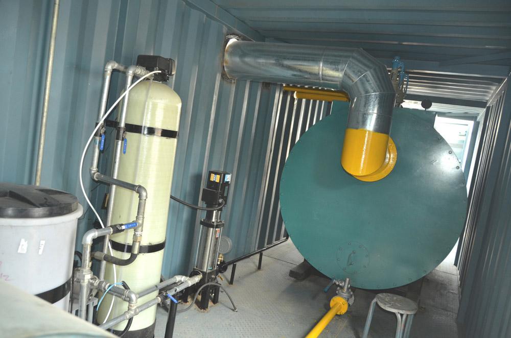 石油鉆機防凍加熱裝置