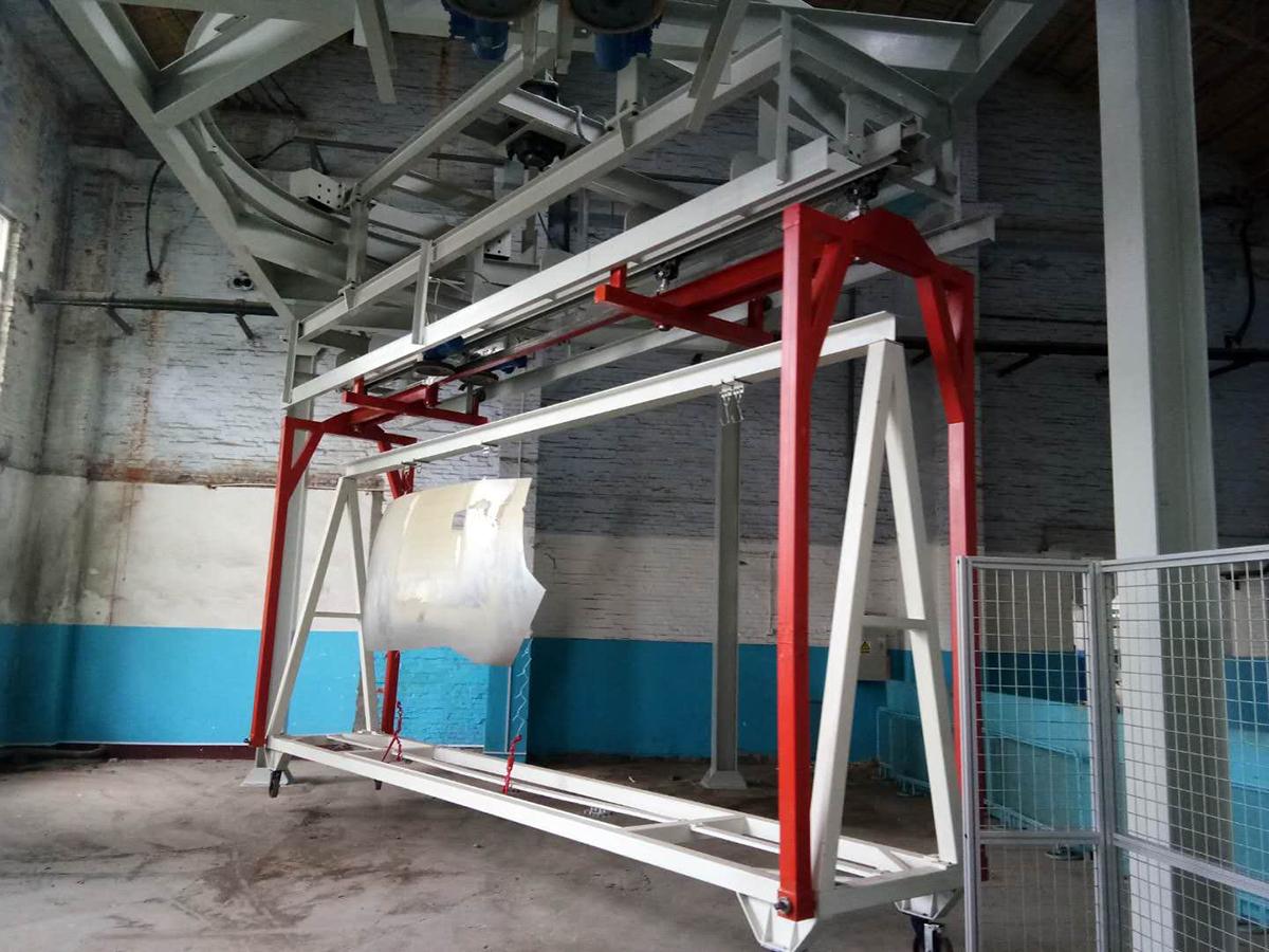 HFO摩擦式悬挂输送机