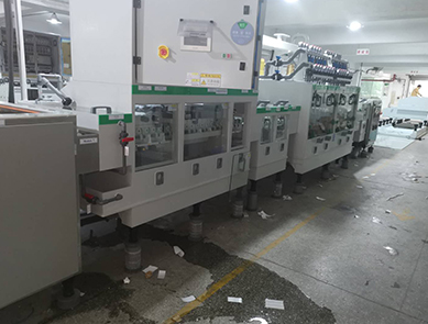 High precision development line