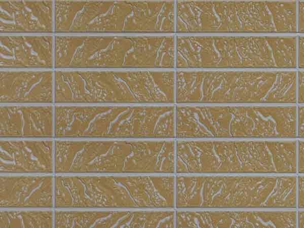 Light Creamy Yellow Covered Camel Pair Brick Pattern (Z8-QRH07)