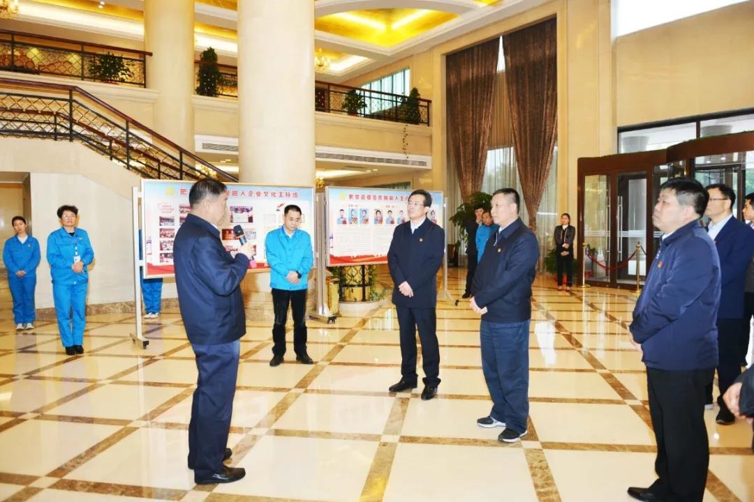 河南省委组织部常务副部长苏长青莅临10bet体育集团调研