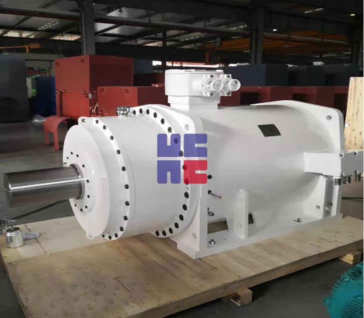 TYBP系列隔爆型半直驱低速大扭矩永磁同步电动机(H450~H560)