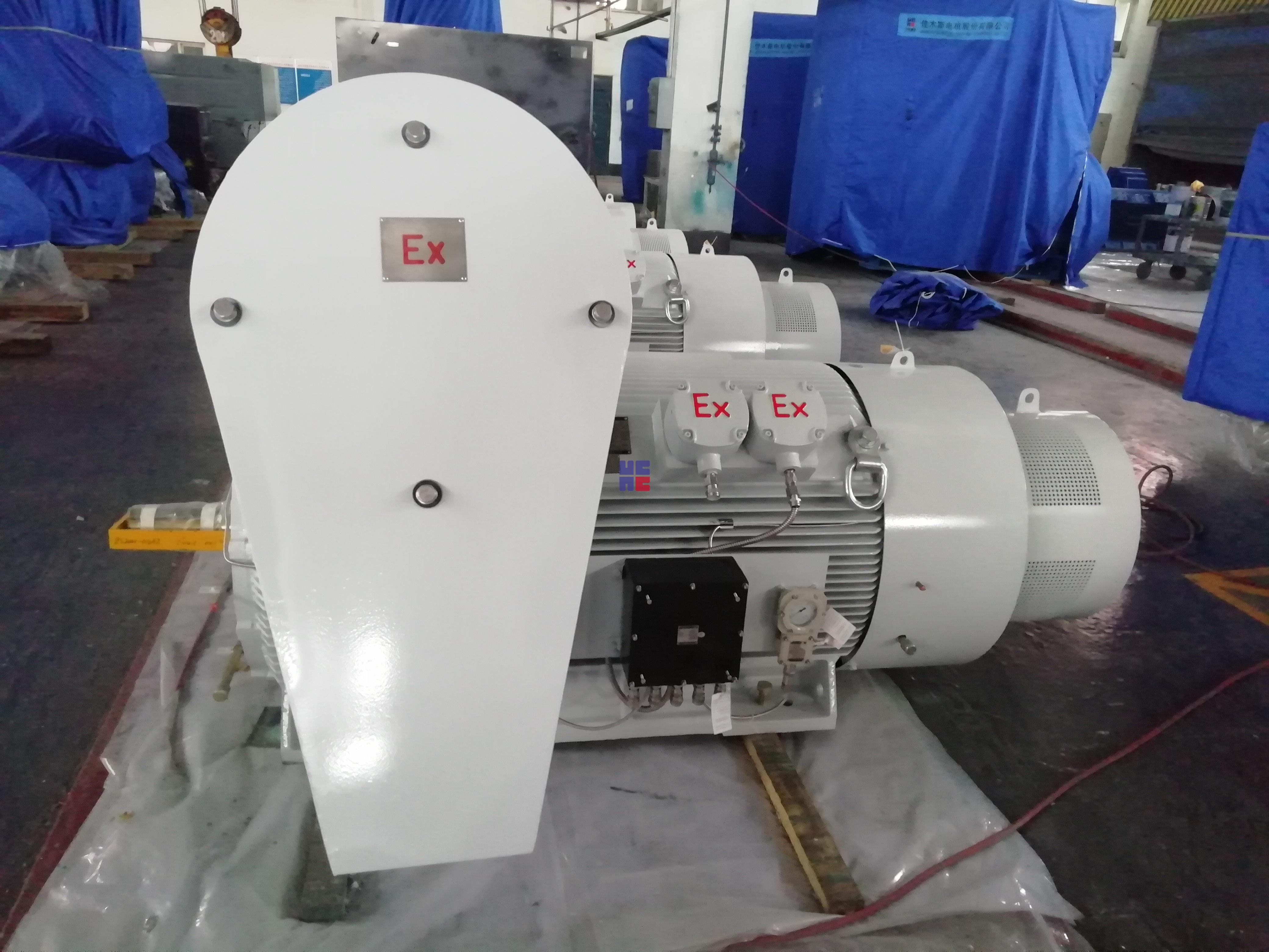 YBX3系列高压隔爆型三相异步电动机(H355~H630)