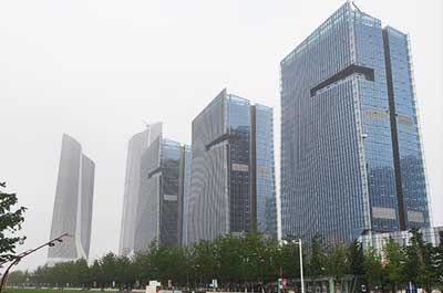 Nanjing International Exhibition Center project