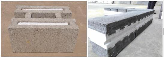 泡沫混凝土自保温砌块的制作方法