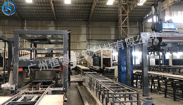 全自动制砖机生产线 泡沫砖设备德国进口技术