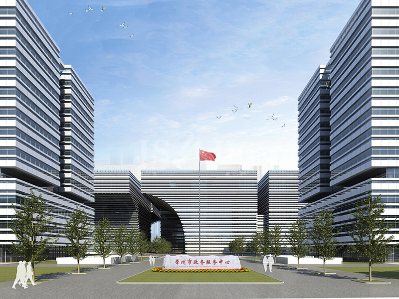 Changzhou Cultural Square Development Project 1 # 2 #, 3 #, 4 # and the basement of a curtain wall sub-project