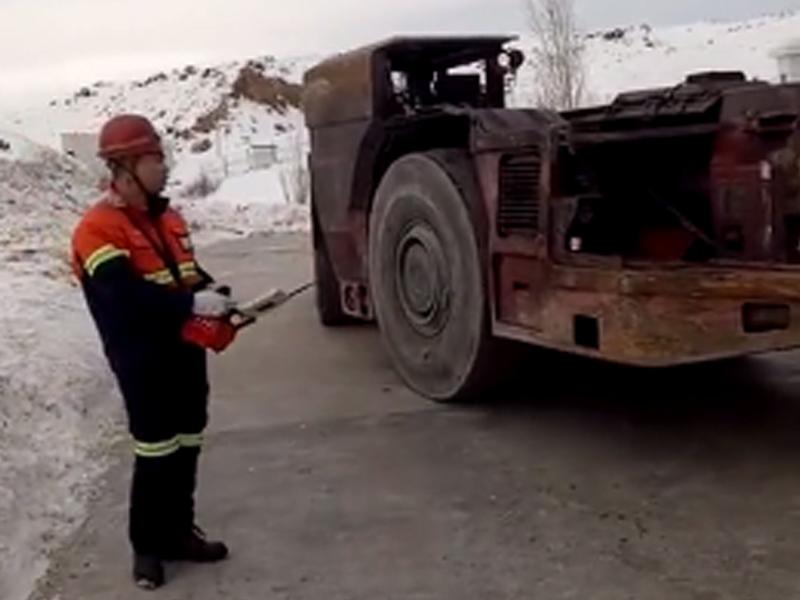 遥控远程操作铲运机