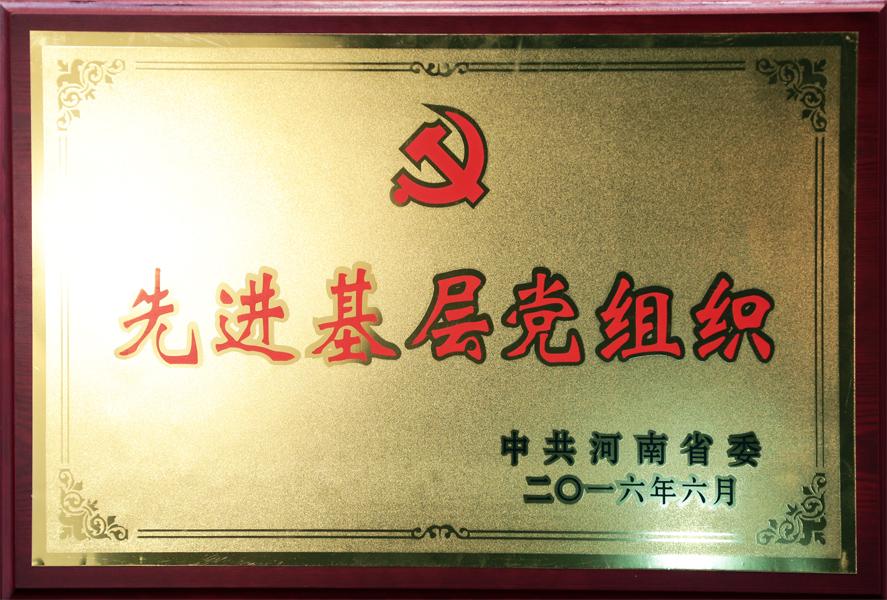 河南省委先进基层党组织