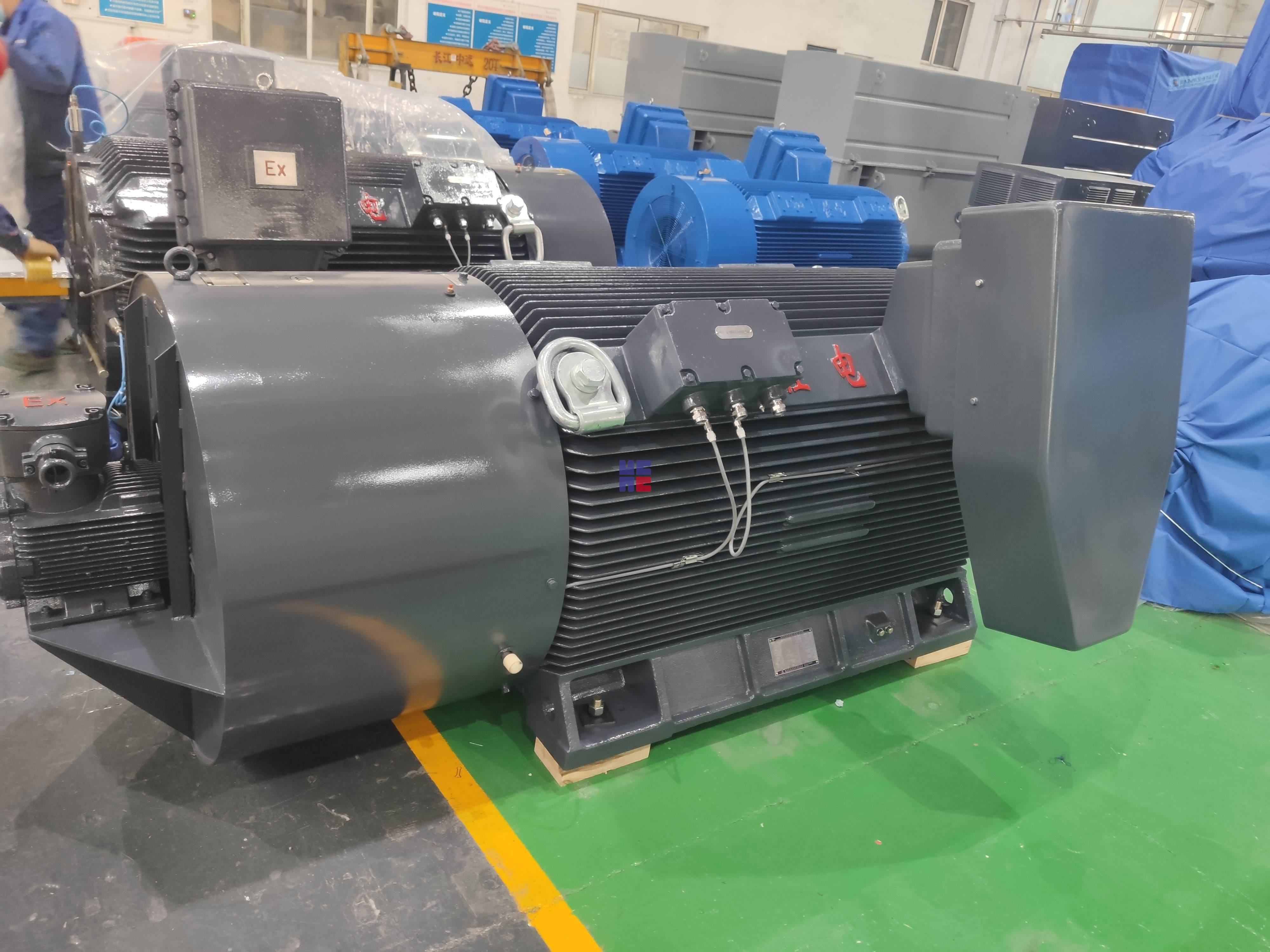 YBBP3系列高压隔爆型变频调速三相异步电动机(H355~H630)