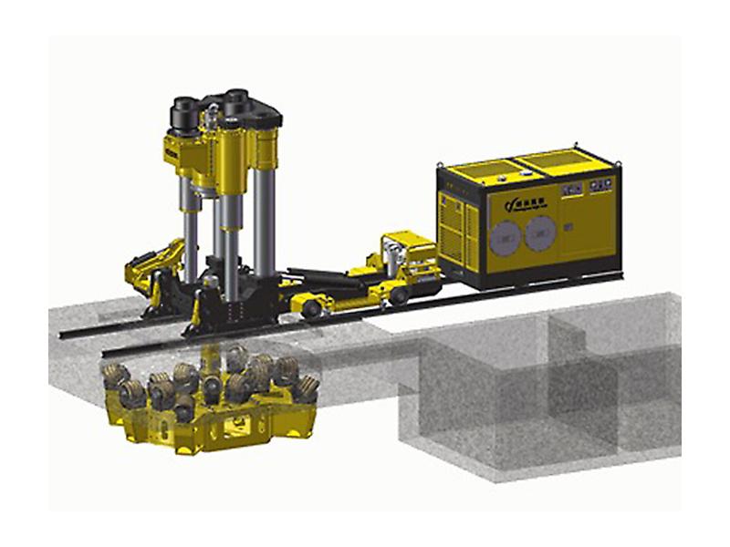 CY-R120系列有轨拖拽式天井钻机
